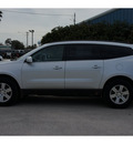 chevrolet traverse 2012 silver lt gasoline 6 cylinders front wheel drive automatic 78114