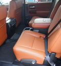 toyota sequoia 2012 black suv platinum flex fuel 8 cylinders 4 wheel drive 6 speed automatic 76053