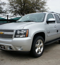chevrolet tahoe 2012 silver suv lt flex fuel 8 cylinders 4 wheel drive not specified 76051
