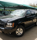 chevrolet suburban 2012 black suv lt flex fuel 8 cylinders 2 wheel drive not specified 76051
