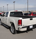 gmc sierra 1500 2010 white denali flex fuel 8 cylinders all whee drive automatic 79922