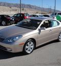 lexus es 330 2006 gold sedan gasoline 6 cylinders front wheel drive automatic 79922