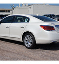 buick lacrosse 2012 white sedan premium 2 gasoline 6 cylinders front wheel drive automatic 77074