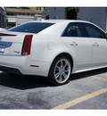 cadillac cts 2012 white sedan 3 0l luxury gasoline 6 cylinders rear wheel drive automatic 77074