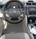toyota camry hybrid 2012 silver sedan xle 4 cylinders automatic 76116