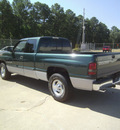 dodge ram pickup 1500 2001 dk  green pickup truck slt gasoline 8 cylinders rear wheel drive automatic 75503