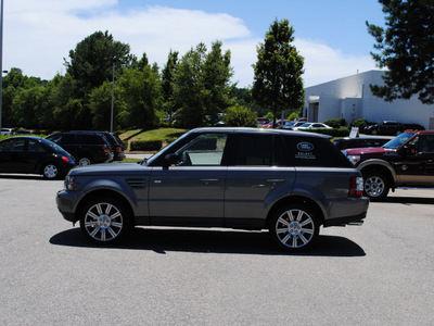 land rover range rover sport 2009 dk  gray suv supercharged gasoline 8 cylinders 4 wheel drive automatic 27511