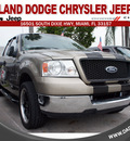 ford f 150 2004 beige pickup truck xlt gasoline 8 cylinders rear wheel drive automatic 33157