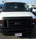 ford e 150 2009 white van e 150 flex fuel 8 cylinders 2 wheel drive automatic 79925