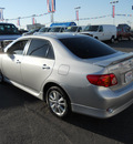 toyota corolla 2010 silver sedan gasoline 4 cylinders front wheel drive automatic 79925