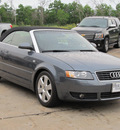 audi a4 2006 dk  gray 1 8t gasoline 4 cylinders front wheel drive shiftable automatic 77074