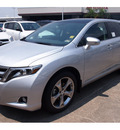 toyota venza 2013 classic silver 6 cylinders automatic 77074
