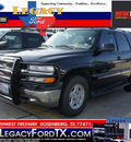 chevrolet tahoe 2004 black suv lt flex fuel 8 cylinders rear wheel drive 4 speed automatic 77471