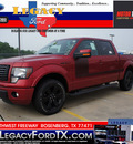 ford f 150 2012 red fx2 flex fuel 8 cylinders 2 wheel drive automatic 77471