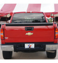 chevrolet silverado 1500 2009 red pickup truck work truck gasoline 8 cylinders 2 wheel drive 4 speed automatic 77471