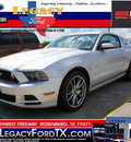 ford mustang 2013 silver coupe gt gasoline 8 cylinders rear wheel drive not specified 77471