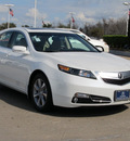 acura tl 2012 white sedan gasoline 6 cylinders front wheel drive automatic with overdrive 77074