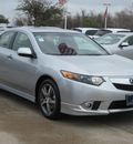 acura tsx 2012 silver sedan w special gasoline 4 cylinders front wheel drive automatic with overdrive 77074