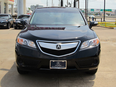 acura rdx 2013 black suv gasoline 6 cylinders front wheel drive automatic with overdrive 77074