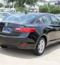 acura ilx 2013 black sedan gasoline 4 cylinders front wheel drive automatic with overdrive 77074