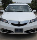 acura tl 2012 white sedan w tech gasoline 6 cylinders front wheel drive automatic with overdrive 77074
