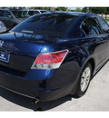 honda accord 2010 blue sedan lx gasoline 4 cylinders front wheel drive automatic 77339