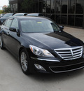 hyundai genesis 2012 black sedan 4dr sdn v6 gasoline 6 cylinders rear wheel drive automatic 75070