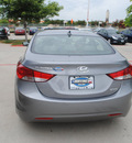 hyundai elantra 2013 gray sedan 4dr sdn ltd at gasoline 4 cylinders front wheel drive automatic 75070