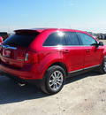 ford edge 2011 red limited gasoline 6 cylinders front wheel drive automatic 76234