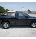 dodge ram pickup 1500 2007 black pickup truck slt 6 cylinders 6 speed manual 78205
