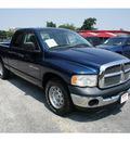 dodge ram pickup 1500 2005 blue pickup truck st 8 cylinders automatic 78205