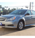 subaru legacy 2011 silver sedan gasoline 4 cylinders all whee drive automatic with overdrive 77627