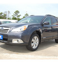 subaru outback 2010 gray wagon 2 5i premium gasoline 4 cylinders all whee drive automatic with overdrive 77627
