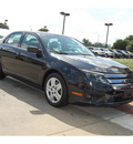 ford fusion 2010 black sedan se gasoline 4 cylinders front wheel drive automatic with overdrive 77706