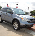 honda cr v 2008 lt  blue suv ex gasoline 4 cylinders front wheel drive automatic with overdrive 77706
