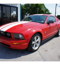 ford mustang 2006 red coupe v6 gasoline 6 cylinders rear wheel drive automatic 76541