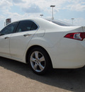 acura tsx 2010 white sedan gasoline 4 cylinders front wheel drive 5 speed automatic 77521