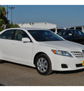 toyota camry 2011 white sedan le gasoline 4 cylinders front wheel drive automatic 78550