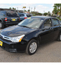 ford focus 2008 black sedan s gasoline 4 cylinders front wheel drive automatic 78550