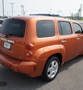 chevrolet hhr 2007 orange wagon lt gasoline 4 cylinders front wheel drive automatic 76087