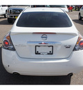 nissan altima 2008 white sedan 3 5 se gasoline 6 cylinders front wheel drive automatic 78572