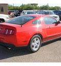 ford mustang 2012 red coupe v6 gasoline 6 cylinders rear wheel drive automatic 78539