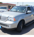 lincoln navigator 2006 silver suv luxury gasoline 8 cylinders rear wheel drive automatic 78539