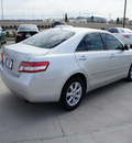 toyota camry 2011 silver sedan le 4 cylinders front wheel drive automatic 76011
