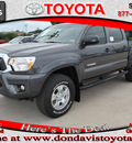 toyota tacoma 2012 black prerunner v6 gasoline 6 cylinders 2 wheel drive automatic 76011