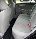 toyota corolla 2012 black sedan le gasoline 4 cylinders front wheel drive automatic 76011