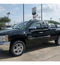 chevrolet silverado 1500 2012 black pickup truck lt flex fuel 8 cylinders 2 wheel drive automatic 77566