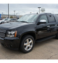 chevrolet suburban 2012 black suv lt 1500 flex fuel 8 cylinders 2 wheel drive automatic with overdrive 77566