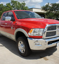 dodge ram 2500 2011 dk  red laramie diesel 6 cylinders 4 wheel drive automatic 76011