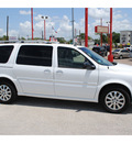 buick terraza 2005 white van cxl gasoline 6 cylinders front wheel drive automatic 77008